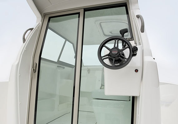 X type of Glass Door, Rear Control Station (Electronic)(OPT).