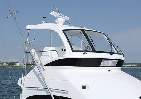 Hard Awning Air Conditioner for Flying Bridge(OPT).